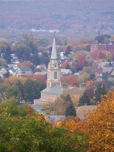 Scenic overlook from Utica Zoo, Utica, NY