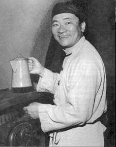 """He would later play the Chinese cook """"Hop Sing"""" on """"Bonanza"""". In real life, he was an accomplished Cantonese cook, and penned the book """"Great Wok Cookbook"""" in 1974 (another of my most-prized possessions)."""