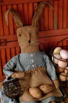 Primitive Easter Bunny