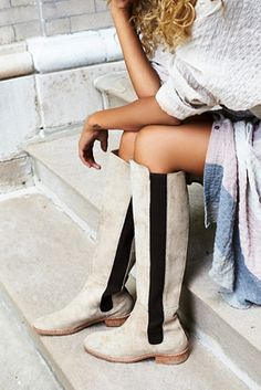 Can't get enough of these Free People callow tall boots on ShopStyle