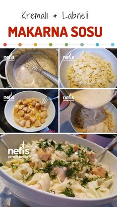 Glaze Stored Cream Pasta Sauce (Amazing Flavor) N …- Secret Pasta Cream Sauce … – Dünya mutfağı – The Most Practical and Easy Recipes Creamy Cauliflower Sauce, Pasta Cremosa, Cream Sauce Pasta, Sweet Potato Noodles, Healthy Comfort Food, Greens Recipe, A Food, Vegetarian Recipes, Yummy Food