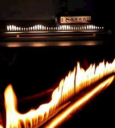 Someday I'm turning a Rubens tube into a fireplace. Then I can transduce my music into fire. (what happens when an engineer does interior design)