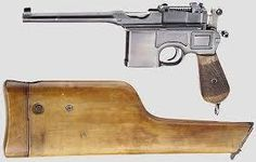 CMR Classic Firearms : Luger Pistol, Mauser C96 Broomhandle ...
