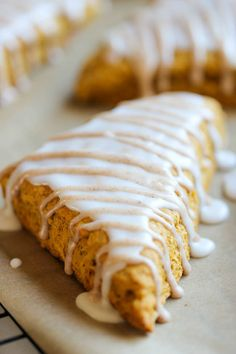 Starbucks Pumpkin Scones Copycat Recipe - Damn Delicious