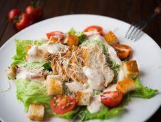 Egy finom Cézár saláta - az eredeti recept! ebédre vagy vacsorára? Cézár saláta - az eredeti recept! Receptek a Mindmegette.hu Recept gyűjteményében! Salad Dressing, Cobb Salad, Bacon, Salads, Recipies, Paleo, Food And Drink, Tasty, Dishes
