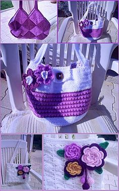 Crochet bag #2 with diagram