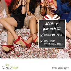 Experience fast, longer-lasting #HairRemoval with #VenusVersa, which provides safe and effective results with no downtime. Find a certified provider near you: http://bit.ly/1SG7ci8 #VenusBeauty