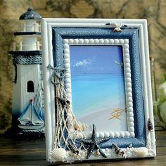 Рамки для фото в морском стиле своими руками фото
