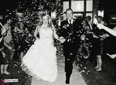 NEW WEBSITE! www.calliebethphoto.com Wedding Photography—Photography, Dallas photography, Fort Worth photography, confetti exit, outdoor wedding, purple and orange wedding #calliebethphoto