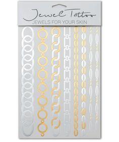 Tolles Flash Tattoo Design in Gold, Silber oder auch im Henna Look. Jetzt zu finden bei Jewel Tattoo, dem führenden Shop in der Schweiz