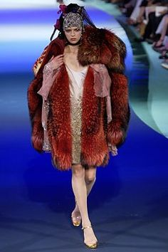 Christian Lacroix Fall 2003 Couture Collection Photos - Vogue