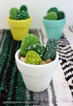 Incorporate a prickly little piece of summer into your home and life with these 10 easy DIY cactus crafts!