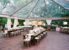 #tents Photography: Corbin Gurkin Photography - corbingurkin.com Read More: http://www.stylemepretty.com/2014/09/22/emily-maynards-surprise-wedding-to-tyler-johnson/