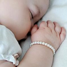 Her first pearl bracelet is a jewelry gift that she will remember forever. The Baby Freshwater Cultured Pearl Bracelet is the perfect accessory for any little girl. Its 5 1/4 inch length is composed o