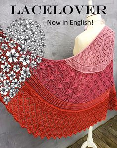 The LACELOVER Shawl pattern by Helle Slente Design | Ravelry knitting pattern | knitting lace