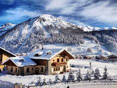 Livigno, Italian Alps jigsaw puzzle in Puzzle of the Day puzzles on TheJigsawPuzzles.com