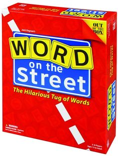 Amazon.com: Word On The Street - The Hilarious Tug Of Words: Toys & Games