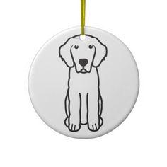 Leonberger Dog Cartoon Ornament