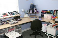organized craft area