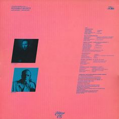 Jon Hassell / Brian Eno - Fourth World Vol. 1 - Possible Musics at Discogs