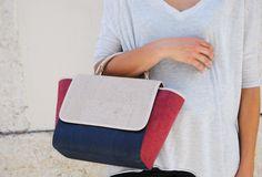 Iris, contemporary & premium handbag... www.pelcorusa.com