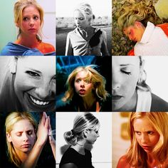 The many faces of SMG as Buffy