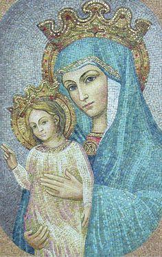 Znalezione obrazy dla zapytania matka kościoła ikona
