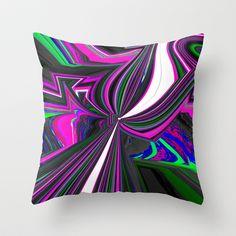 Trax Throw Pillow by David  Gough - $20.00