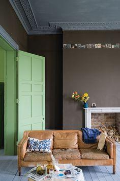 Salon Drab| Paint Ideas for new Farrow & Ball colours 2016 (houseandgarden.co.uk)