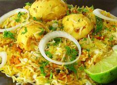 Indian Egg Biryani Recipe