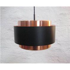 Jo Hammerborg, Saturn pendel i kobber og sortlakeret. Fog og Mørup, 30 cm