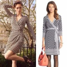 Latest #dvf wraps in store now. x