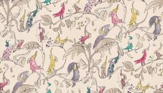 Cockatoo wallpaper by Quentin Blake