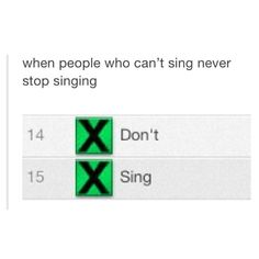 OH MY GOSH IM CRYING (not u Ed u can sing. Hah. Cause the album...) but yeah this is really true.