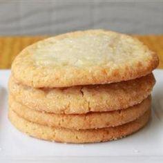 Chewy Sugar Cookies... YUM!