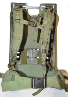 """Canadian Army Pack Board - manufactured in 1998-2001 to carry items for the ERYX system, 25.5"""" x 14.5"""" x 1/2"""""""