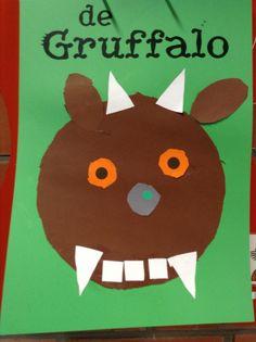 Knutselen 2d: Gruffalo