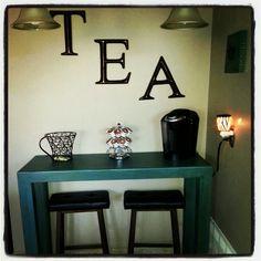 Tea,Coffee nook