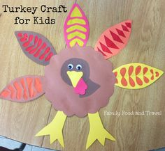 Turkey Craft for Kids: Big and Little - Family Food And Travel