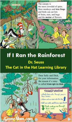 Explore the Rainforest with The Cat In The Hat Learning Library - interactive features make the learning fun #kidsapps #ScienceApps