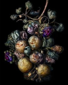 MORE TO LOVE: UNLIKELY GARDENERS. From Karl Blossfeldt's faunal specimen to Araki's suggestive flora, see our pick of great gardens through the lens of photography masters. Fruit Photography, Texture Photography, Still Life Photography, Frankenstein, A Level Art Themes, Rotten Fruit, Karl Blossfeldt, Growth And Decay, Time And Weather