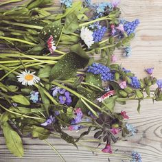 """bloomin' lovely bunch of flowers #wildflower #newproject #inspiration #heartvintage"" www.heartvintage.co.uk"