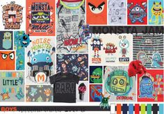 S/S 2014 Kids Interiors   Monster Jam - Write On Trend