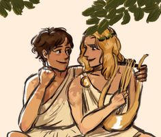 friendly ghost - Finished TSOA so I'm reading The Iliad…Homer-otic. Greek And Roman Mythology, Greek Gods, Apollo And Hyacinth, Achilles And Patroclus, Daughter Of Smoke And Bone, Lore Olympus, Lunar Chronicles, Book Fandoms, Black Butler