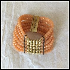New Lucky Brand Bracelet New Lucky Brand bracelet. Interested?  Don't wait for me to reduce price because I won't! Be proactive and ask me for a discount instead!   Only items  can be bundled together. Lucky Brand Jewelry Bracelets