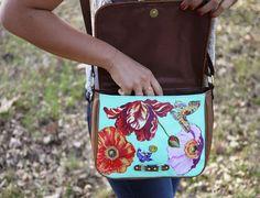 Направи си сама: чанта с флорални мотиви