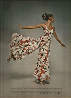 Details about Neal Barr Photographed Vanity Fair Lingerie Ad 1970 - Fashion Show Seventies Fashion, 1960s Fashion, 70s Vintage Fashion, 50 Fashion, 70s Outfits, Vintage Outfits, Rave Outfits, Vanity Fair Lingerie, Mode Pop