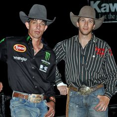J. B. Mauney and J. W. Harris Bull Rider of the PBR