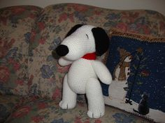 Amigurumi Patterns Snoopy : Ravelry: crocheted snoopy lookalike amigurumi pattern by armina