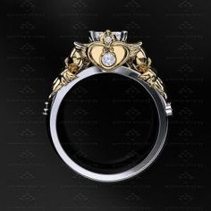 Sailor Moon wedding rings